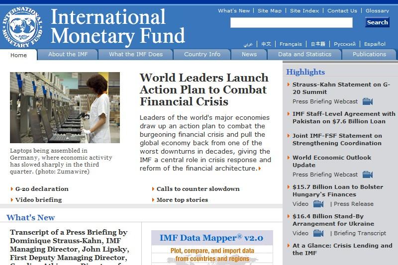 Le site du FMI...