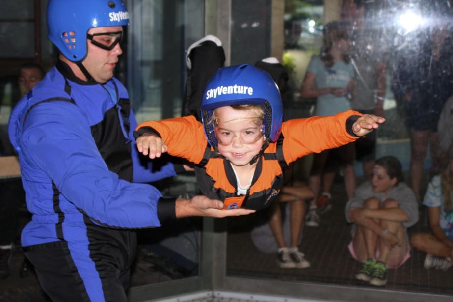 Un simulateur de chute libre ouvrira ses portes... (Photo: Skyventure)