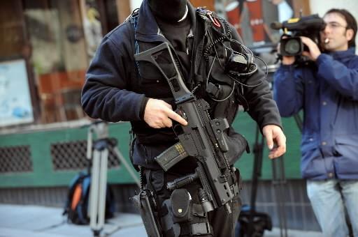 L'arrestation du chef militaire présumé de l'ETA, «Txeroki»,... (Photo: AFP)