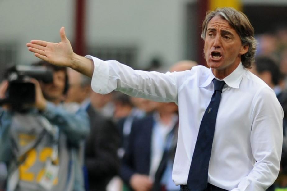 Roberto Mancini... (Photo: AFP)