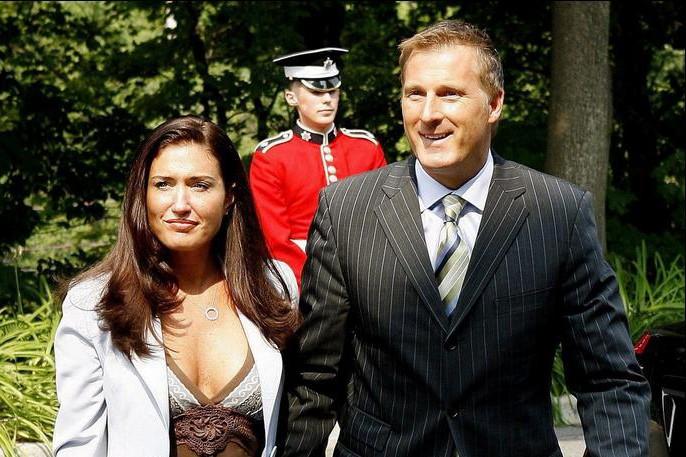 En août dernier, Maxime Bernier et Julie Couillard... (Photo: Reuters)