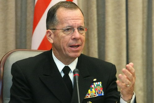 L'amiral Michael Mullen... (Photo: AFP)