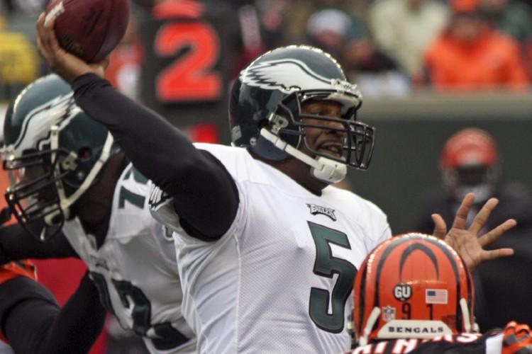 Les Eagles et les Bengals se sont livré... (Photo: AP)
