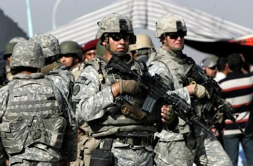 Des soldats américains en Irak.... (Photo: AFP)