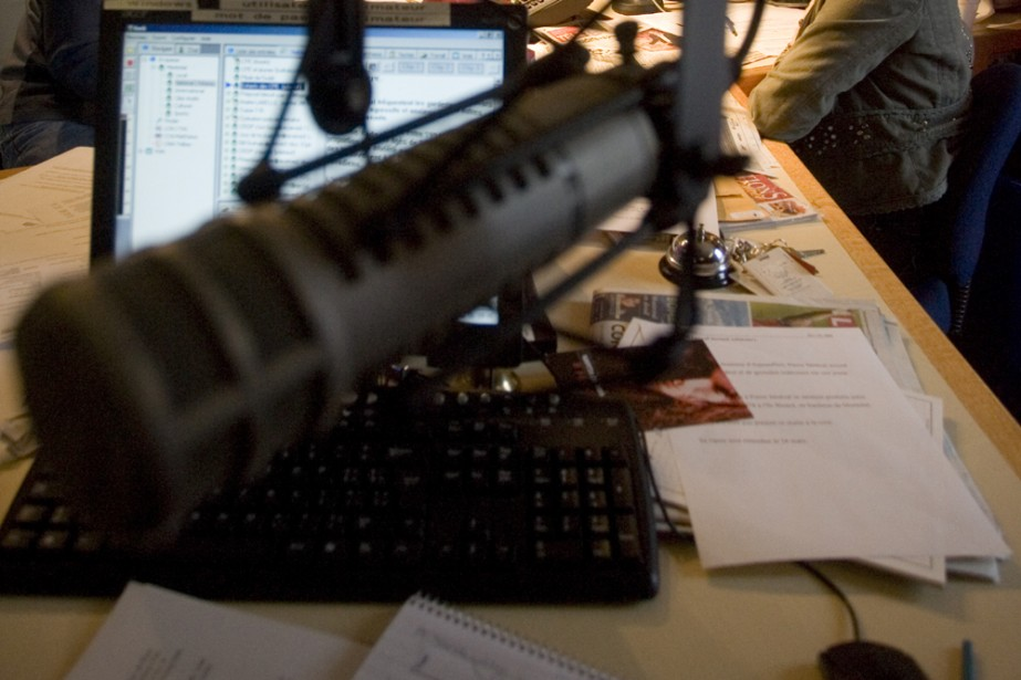 En plus de la course aux cotes d'écoute, les stations de... (Archives La Presse)