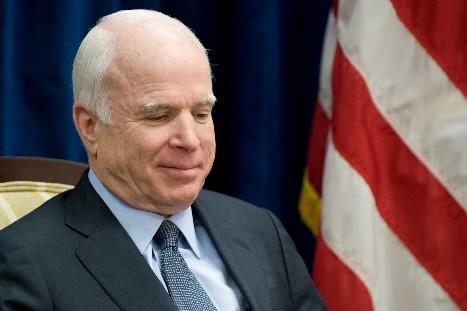 John McCain... (Photo: AFP)
