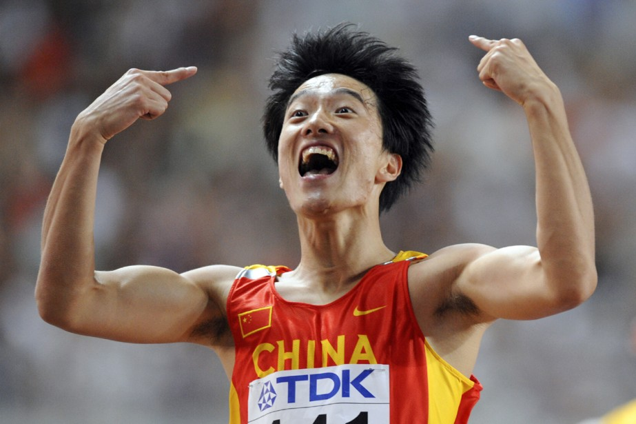 Liu Xiang... (Photo: AFP)