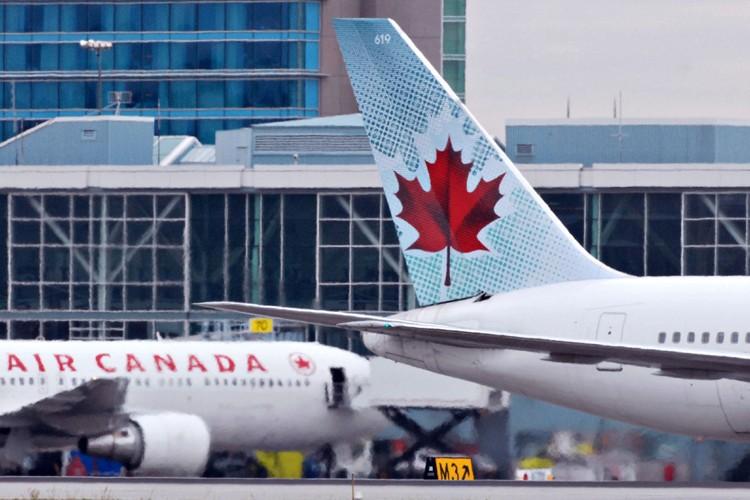 Un vol transatlantique d'Air Canada a été dévié vers... (Photo; Bloomberg)