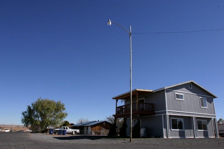La maison de San Carlos, en Arizona,où a... (Photo: AP)
