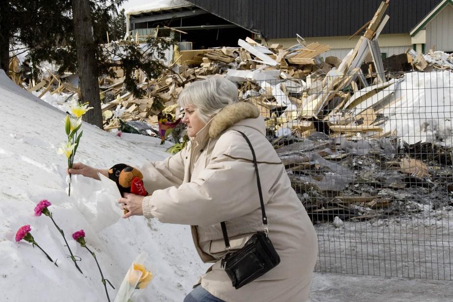 Au lendemain de l'effondrement du toit de Gourmet... (Archives La Presse)