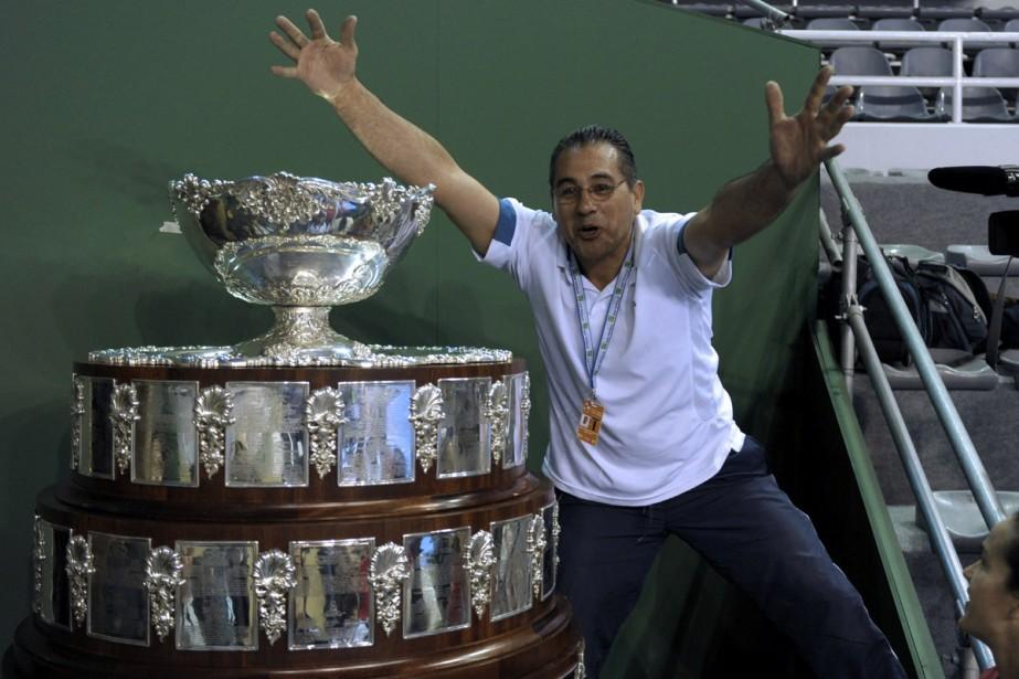 La Coupe Davis est la grande vedette à... (Photo: AFP)