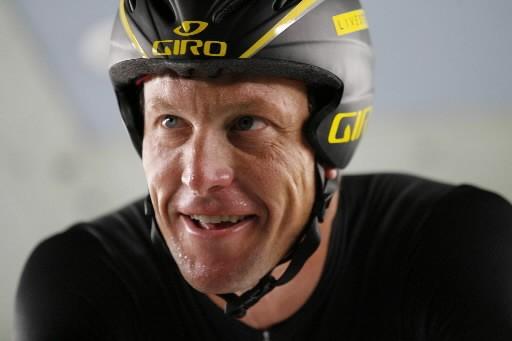 Le cycliste Lance Armstrong... (Photo: AP)