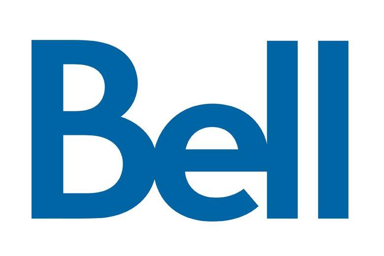 Le logo de Bell...