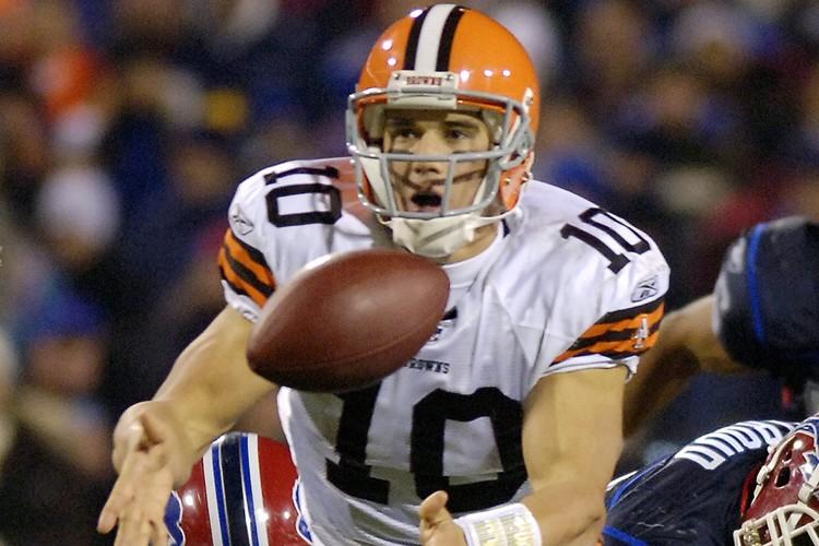 Brady Quinn... (Photo: AP)