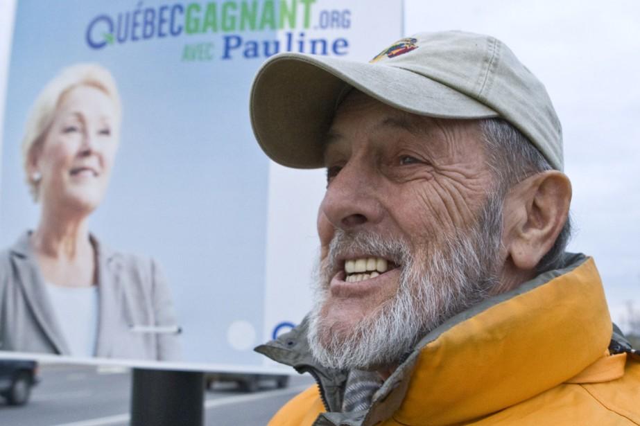 Ernest Boudreau aimerait bien que Pauline Marois parle... (Photo: Rémi Lemée, La Presse)
