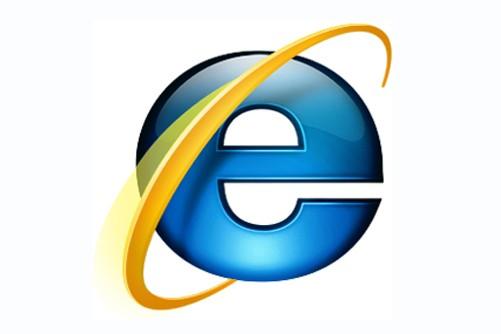 Le logo d'Internet Explorer...