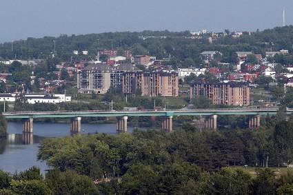 La ville de Sherbrooke... (Photo: Archives La Presse)