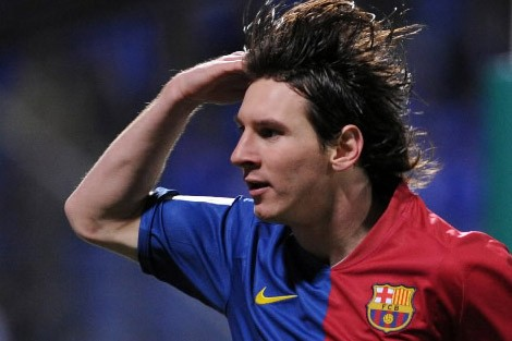 L'attaquant argentin Lionel Messi... (Photo: AFP)