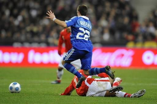 Franck Ribéry a volé la vedette....