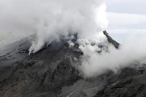 Le volcan de Huila... (Photo AFP)