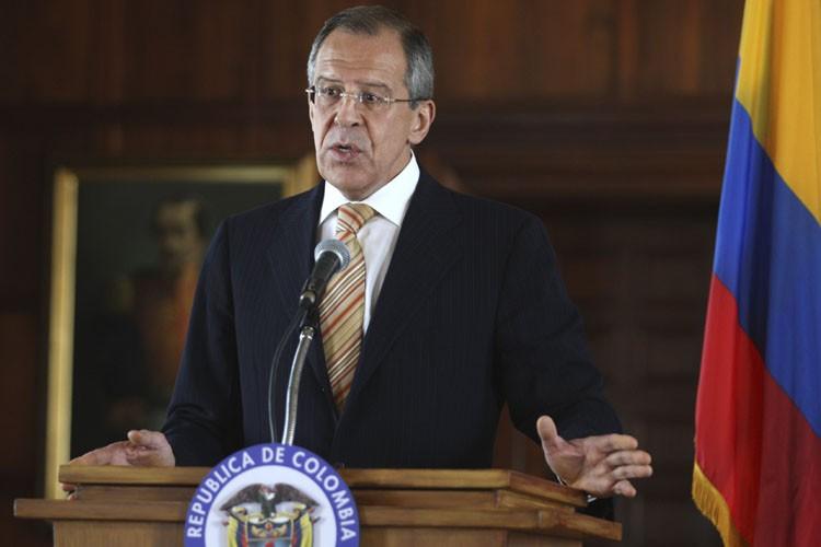 Le ministre russe des Affaires étrangères, Sergei Lavrov.... (Photo: Reuters)