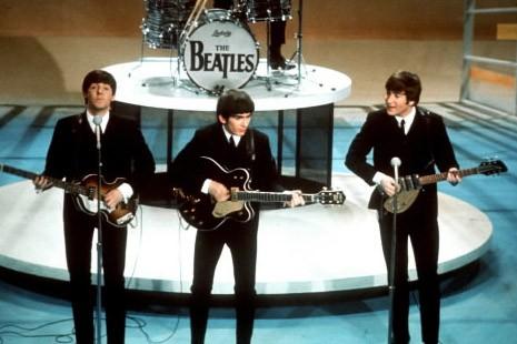 Trois membres du groupe les Beatles.... (Photo: AP)