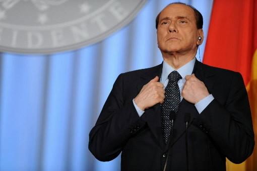 Le Premier ministre de l'Italie, Silvio ... (Photo: AFP)
