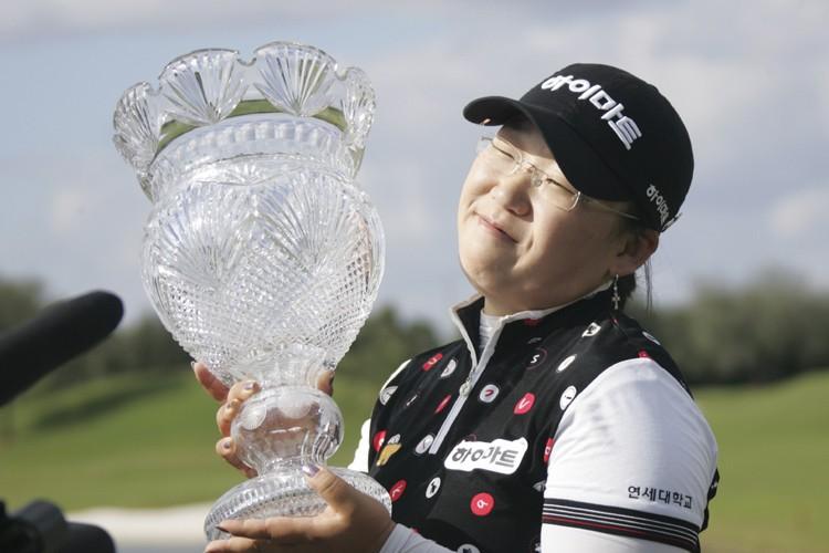 Ji-Yai Shin, gagnante de l'Omnium britannique, cet été, a joué 70... (Photo: AP)