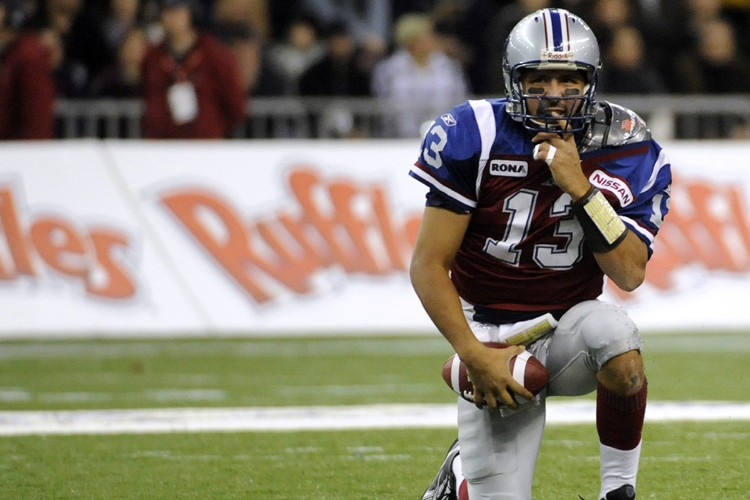 Anthony Calvillo... (Photo: Bernard Brault, La Presse)