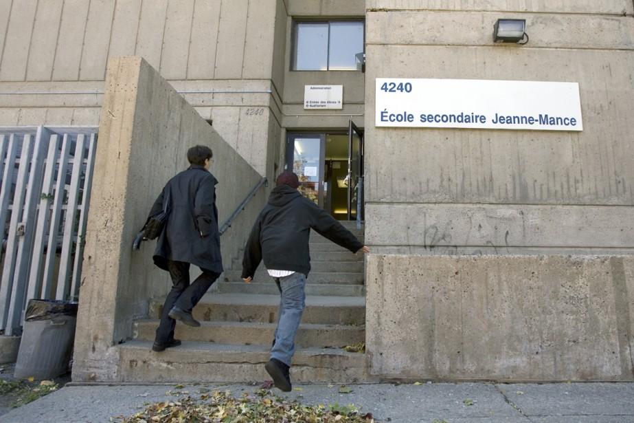 Jusqu'à maintenant, l'amiante pose problème dans 36 établissements... (Photo: Robert Skinner, La Presse)