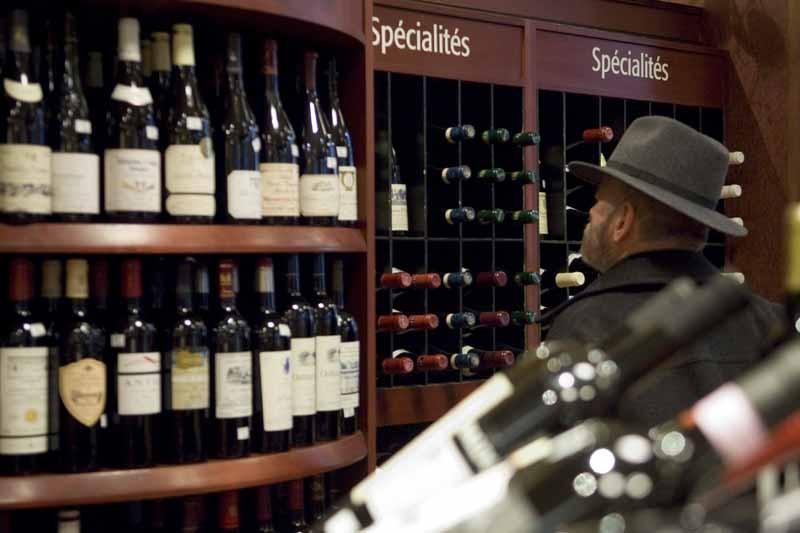 La Société des alcools du Québec continue elle... (Photo: Martin Tremblay, La Presse)