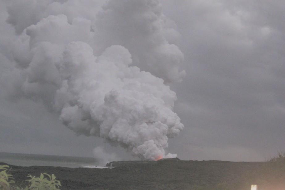 Le volcan actif Kilauea attire à Big Island... (Photo: Isabelle Audet, La Presse)