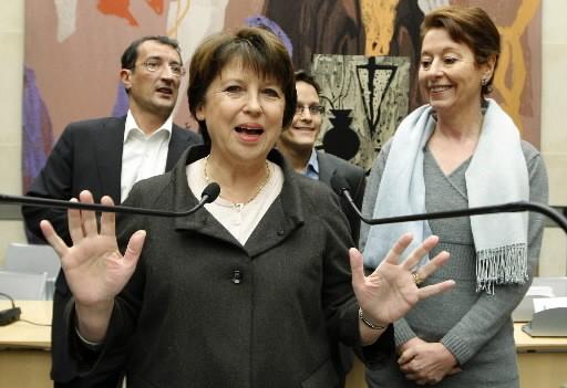 Martine Aubry... (Photo: Reuters)
