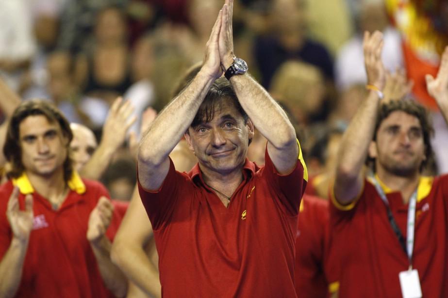 Emilio Sanchez Vicario... (Photo: Reuters)