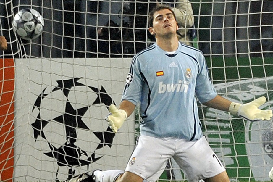 Le gardien du Real Madrid, Iker Casillas... (Photo: AFP)