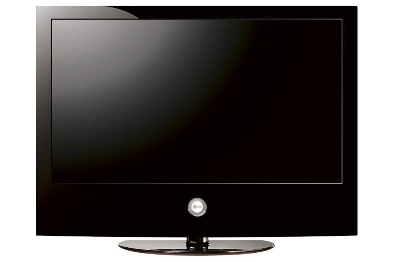 Un téléviseur à écran plat LG Scarlet...