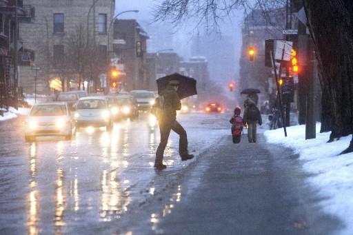 L'hiver, les mauvaises chutes se... (Photo: Alain Roberge, archives La Presse)
