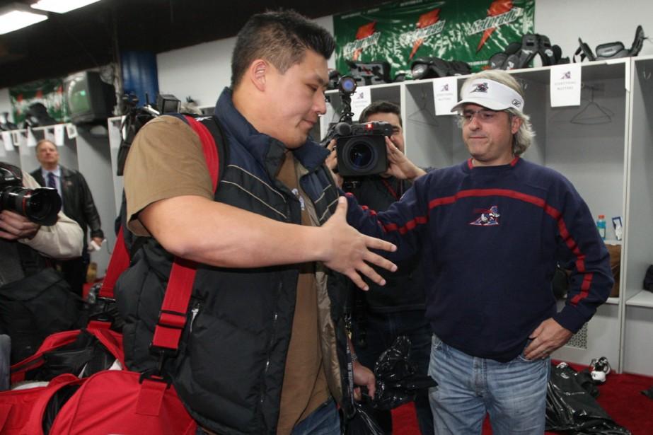 Bryan Chiu... (Photo: Martin Chamberland, La Presse)