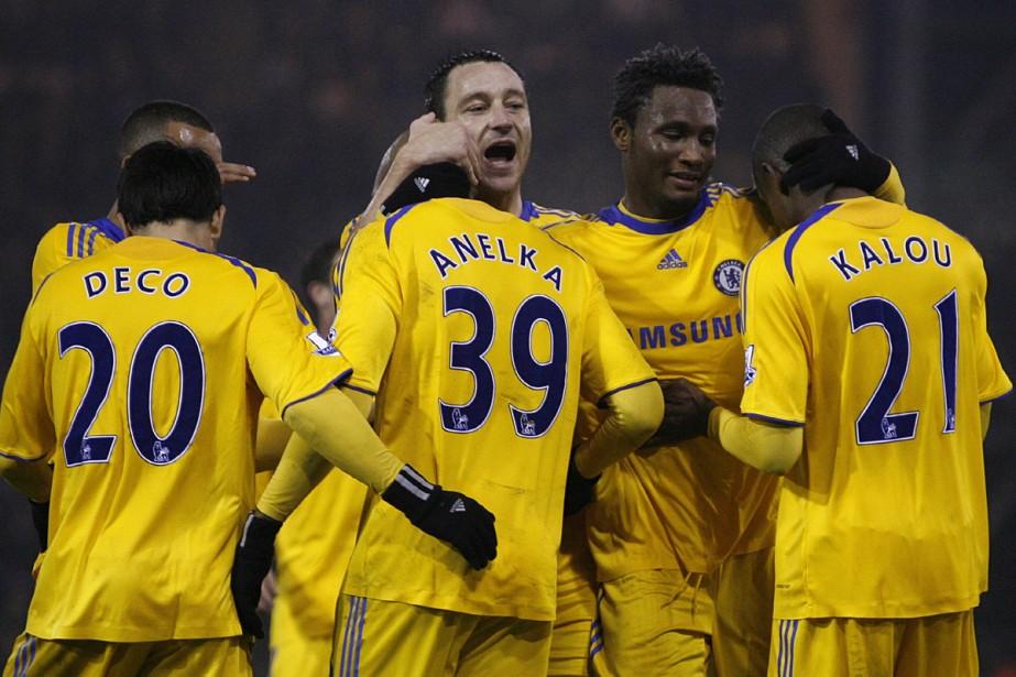 Chelsea, qui reçoit Cluj, reste l'équipe la plus... (Photo: AFP)