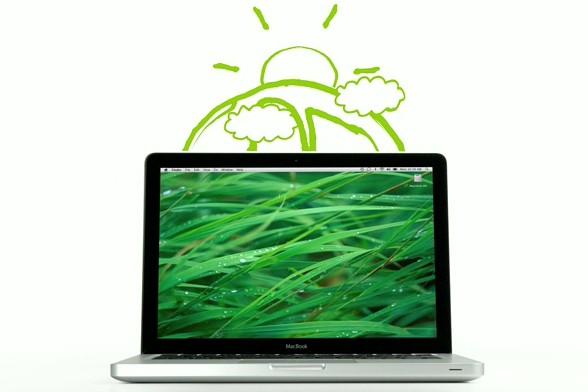 Un MacBook d'Apple «plus vert»...