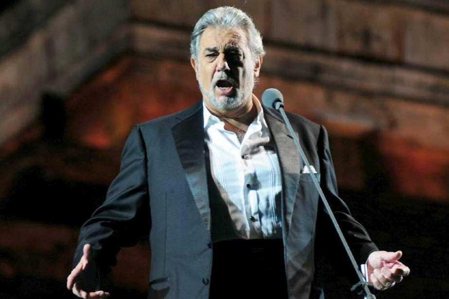 Placido Domingo... (Photo: AFP)
