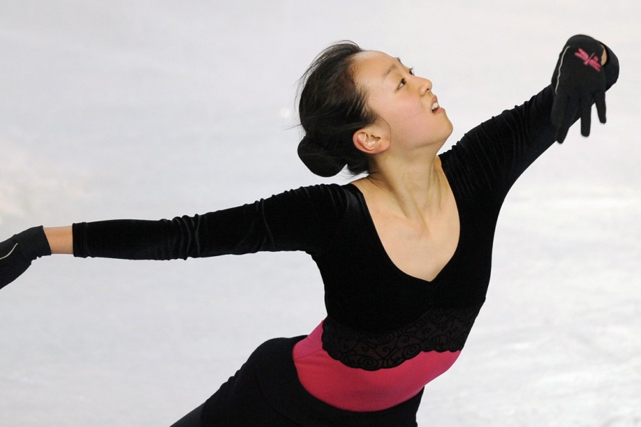 Mao Asada... (Photo: AFP)