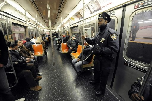 Le métro de New York... (Photo: AP)