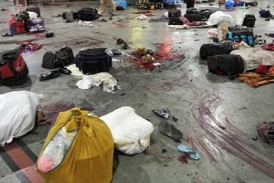 Les dix auteurs des attentats de Bombay sont apparus jeunes,... (Photo: AFP)