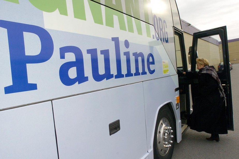 Pauline Marois entreprend ce matin une tournée dans... (Photo Érick Labbé, Le Soleil)