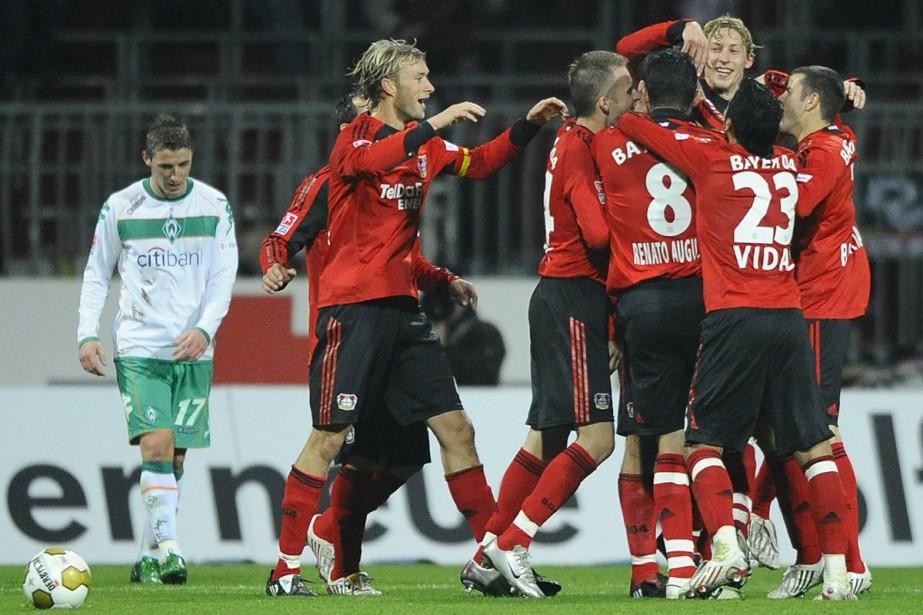 le Bayer Leverkusen a réalisé un beau parcours... (Photo: AFP)