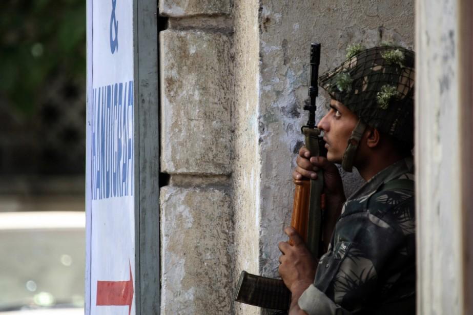 Une fausse alerte terroriste hier à l'aéroport international de... (Photo AFP)