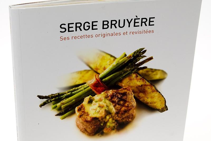 Le livre Serge Bruyère: ses recettes originales et... (Photo: Armand Trottier, La Presse)