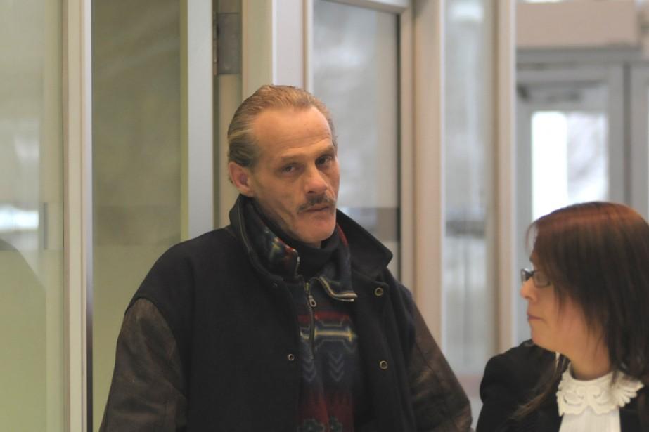 Porteur du VIH, Pascal Joël Théry, qui comparaît... (Photo Yann Canno, collaboration spéciale)