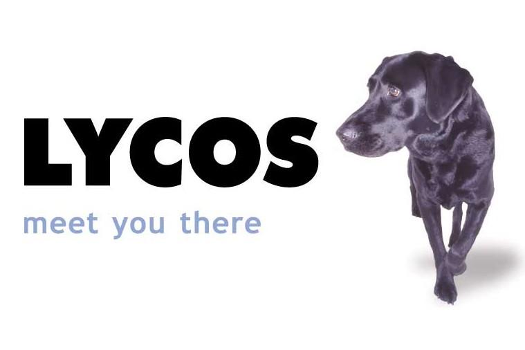 Le logo de Lycos...